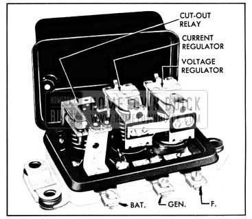 1950 Buick Generator Regulator