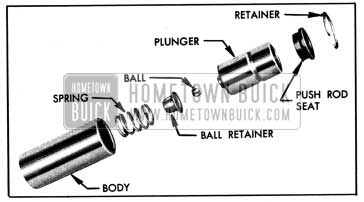 1950 Buick Hydraulic Valve Lifter, Disassembled