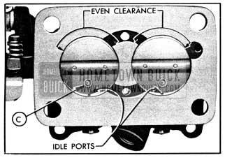1950 Buick Installation of Throttle Valves