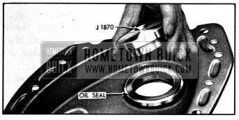 1950 Buick Installing Crankshaft Oil Seal