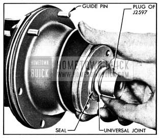 1950 Buick Installing Torque Ball and Retainer