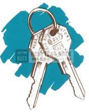 1950 Buick Keys