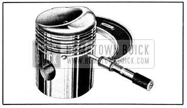 1950 Buick Measuring Piston with Micrometer