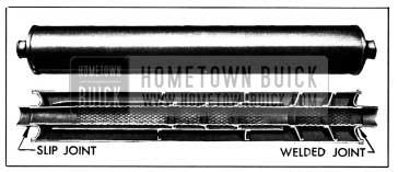 1950 Buick Muffler-Sectional View