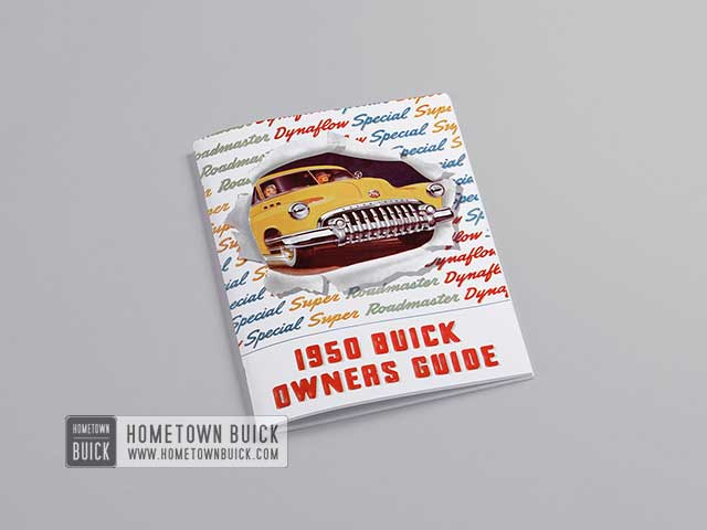 1950 Buick Owners Guide