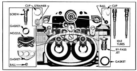 1950 Buick Parts in Main Carburetor Body