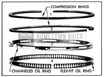 1950 Buick Piston Rings