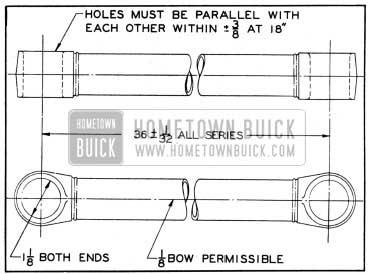 1950 Buick Radius Rod Dimensions