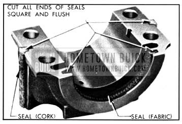1950 Buick Rear Bearing Oil Seals