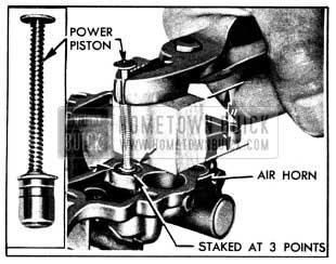 1950 Buick Removing Vacuum Power Piston