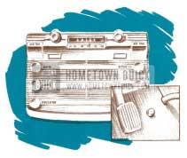1950 Buick Selectronic Radio