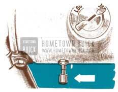 1950 Buick Speedometer Trip Mileage