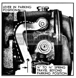 1950 Buick Spring Travel at Shift Lever