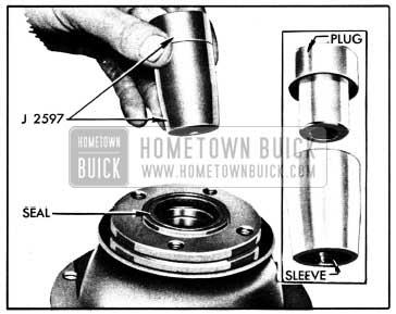 1950 Buick Torque Ball Installing Tool J 2597