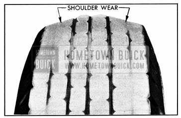 1950 Buick Underinflation Tread Wear