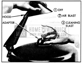 1950 Buick Use of AC Spark Plug Cleaner