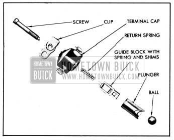 1950 Buick Vacuum Switch Parts