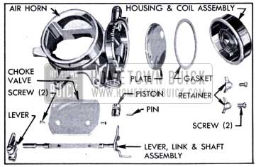 1951 Buick Air Horn and Climatic Control-Disassembled