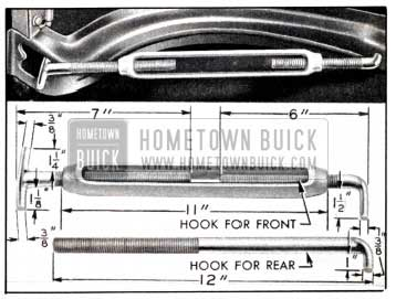 1951 Buick Bending Hood Panel Reinforcement to Reduce Hood Width