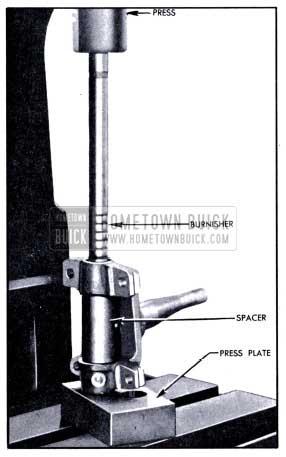 1951 Buick Burnishing Steering Knuckle Bushings