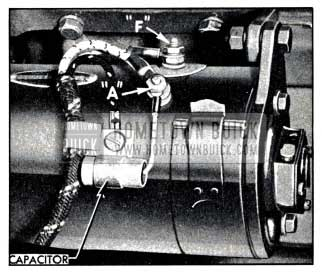 1951 Buick Capacitor Mounted on Generator