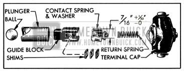 1951 Buick Carter Accelerator Vacuum Switch Parts