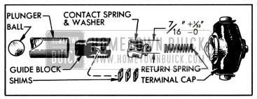 1951 Buick Carter Accelerator Vacuum Switch Parts
