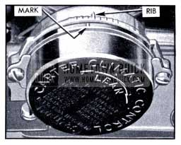 1951 Buick Carter Thermostat Setting