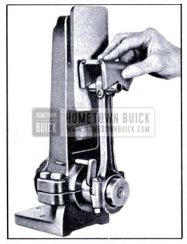 1951 Buick Checking Connecting Rod Alignment