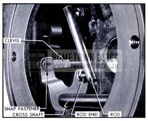 1951 Buick Connections to Cross Shaft