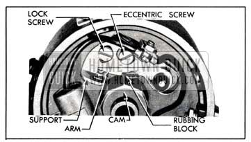1951 Buick Contact Point Adjustment
