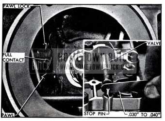 1951 Buick Control Valve Linkage Adjustments