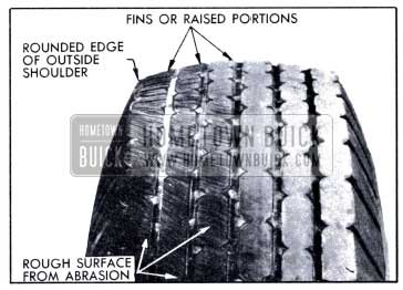 1951 Buick Cornering Tread Wear