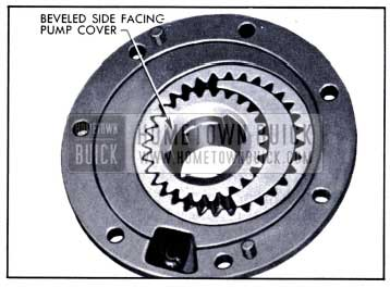 1951 Buick Correct Installation of Driving Gear in Pump Body