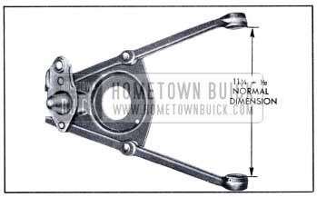 1951 Buick Correct Spacing of Control Arm Inner Ends