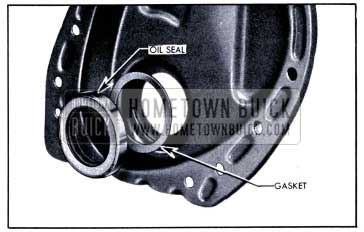 1951 Buick Crankshaft Oil Seal and Gasket