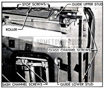 1951 Buick Door Window Adjustments