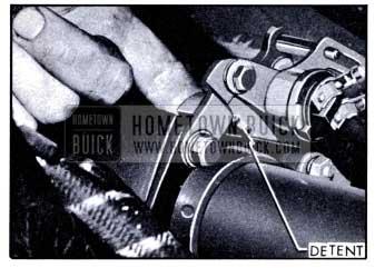 1951 Buick Dynaflow Transmission Control Detent