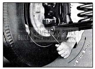 1951 Buick Expanding Brake Shoes