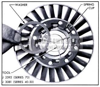 1951 Buick First Position of Primary Stator Assembly Tool