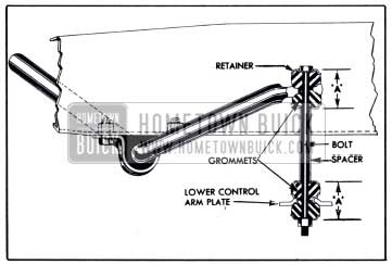 1951 Buick Front Stabilizer Link-Sectional View