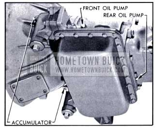 1951 Buick Gauge Connections for Oil Pressure Tests