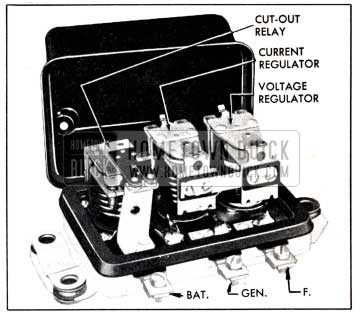 1951 Buick Generator Regulator