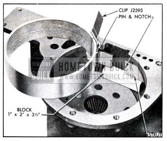 1951 Buick Installation of Low Band and Struts