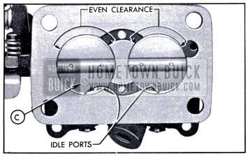 1951 Buick Installation of Throttle Valves