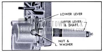 1951 Buick Installation of Valve Operating Levers