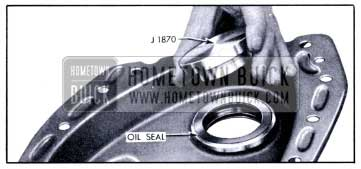 1951 Buick Installing Crankshaft Oil Seal