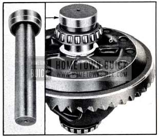 1951 Buick Installing Differential Bearing Using Replacer J 2242