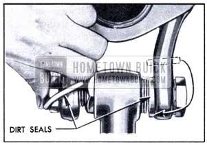 1951 Buick Installing Dirt Seals