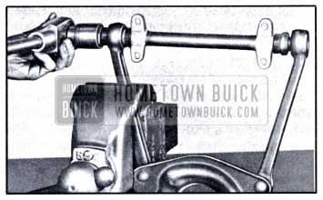 1951 Buick Installing First Bushing